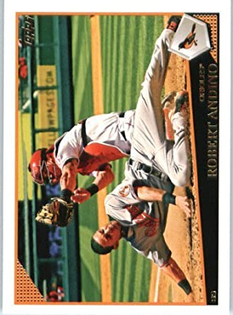 c12e6d0966c3f Amazon.com: Robert Andino - Baltimore Orioles - 2009 Topps Update ...