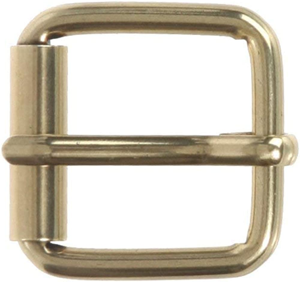 MONIQUE Men Nickel Free Single Prong Square 1 Wide Belt Replacement Buckle