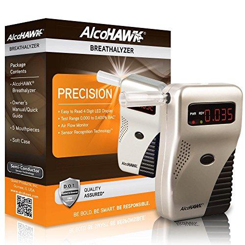 Alcohawk Precision Digital Alcohol Breath (Alcohawk Breathalyzer)