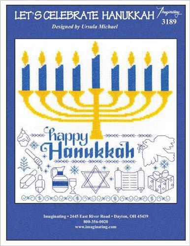 Stitch Michael Cross Ursula (Let's Celebrate Hanukkah (Chart 3189) Cross Stitch Chart)