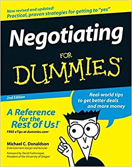NEGOTIATING FOR DUMMIES PDF DOWNLOAD