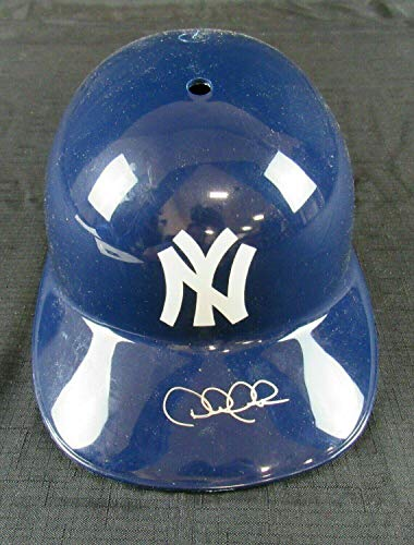 Derek Jeter Signed Auto Autograph Yankees Replica Batting Helmet BB02528 - JSA Certified - Autographed MLB Helmets Derek Jeter Autographed Mlb Baseball