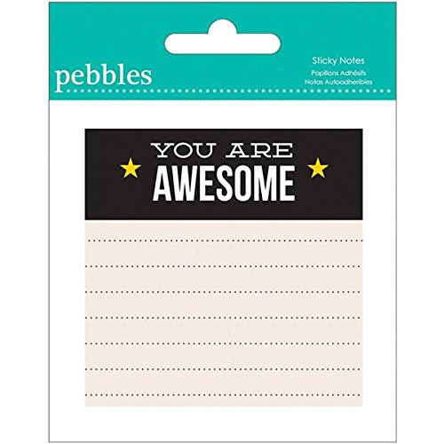 Pebbles Sticky Notes You Awesome product image