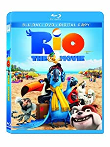 Cover Image for 'Rio (Blu-ray/ DVD Combo + Digital Copy)'