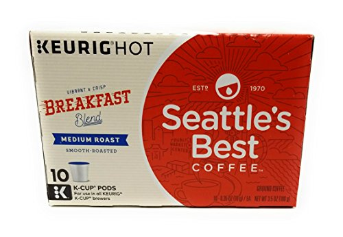Seattles Best Blend Coffee (Seattle's Best, Single Serve K-Cup Coffee, 3.5oz Box (Pack of 3) (Choose Flavors Below) (Breakfast Blend))