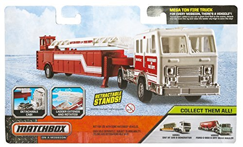 Matchbox On A Mission Mega Ton Fire Truck