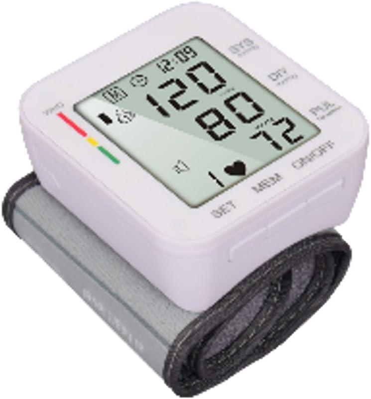 DyNamic Automatic Digital Wrist Cuff Blood Pressure Monitor BP Machine Home Measurement