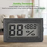 KEYREN Humidity Thermometer, Digital LCD Hygrometer