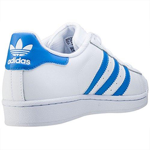 Ray Unisex adidas White Ray Basketballschuhe Blue Ftwr Weiß Blue Erwachsene Superstar 00raqd