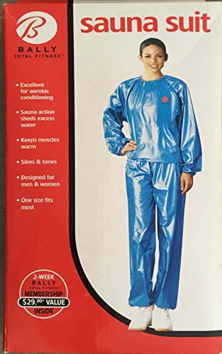 Bally Total Fitness One Size Blue Sauna Suit with Women's ...