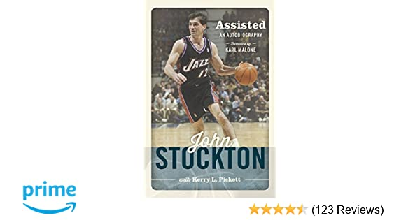 0d0fa043b Amazon.com  Assisted  The Autobiography of John Stockton (9781609079253)  John  Stockton