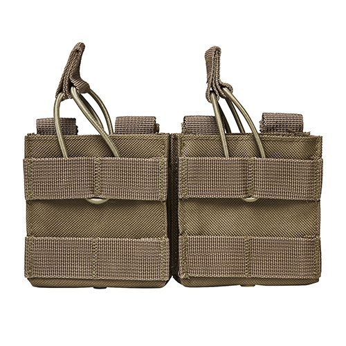 Used, NC Star AR10/M1A/FAL .308 Dual Magazine Pouch, Tan for sale  Delivered anywhere in USA