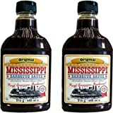 Mississippi Barbecue Grill Sauce 'Original', 2x440ml (Doppelpack)