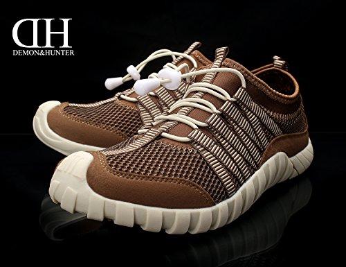 Demon&Hunter Hombre Café Zapatos Escarprines S4L2519C Café