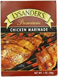 Lysander's Premium Marinade, Chicken, 1-Ounce (Pack of 6)