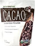 LIVfit Superfood Organic Cacao Powder — 100% Raw Organic Cacao Powder, Enjoy A