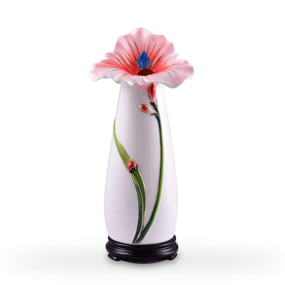 セラミック花瓶用花緑植物結婚式の植木鉢装飾ホームオフィスデスク花瓶花バスケットフロア花瓶 B07RGB1LC1