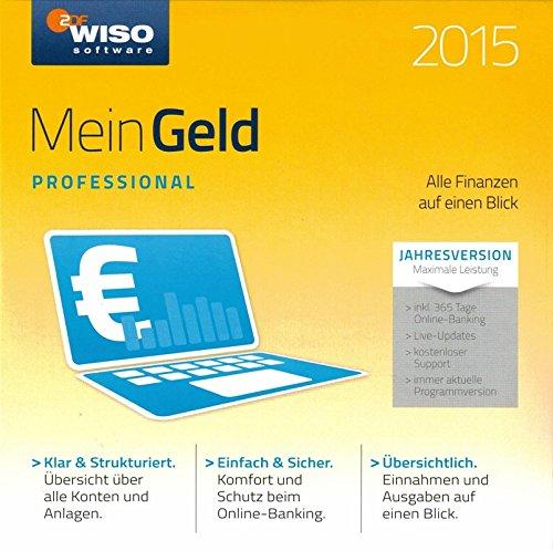 BUHL - WISO Mein Geld Professional 2015 CD - Jahresversion - inkl. Update für 365 Tage in Papersleeve