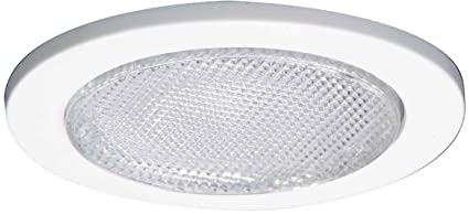 Halo recessed 955ps 4 inch lensed showerlight trim with prismatic halo recessed 955ps 4 inch lensed showerlight trim with prismatic glass lens white aloadofball Image collections