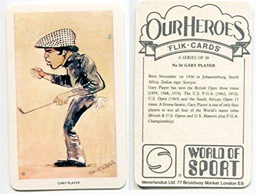 1979 Venorlandus World of Sport Gary Player Golf Card #24