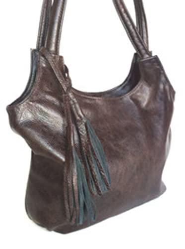 1a2c3b42a39e Fgalaze Mahogany Wash Leather Purse Style
