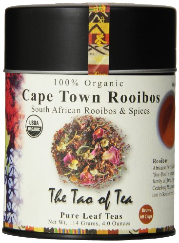 The Tao of Tea, Cape Town Rooibos Tea, Loose Leaf, 4 Ounce Tin