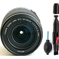 Canon 18-135mm IS STM Lens (WHITE BOX) + Deluxe Lens Cleaning Pen + Deluxe Lens Blower Brush