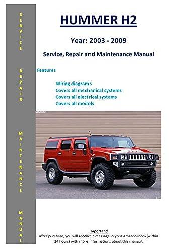 hummer h2 from 2003 2009 service repair maintenance manual Kia Optima Diagram