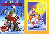 Darkwing Duck Disney It's A Wonderful Leaf DVD & Arthur Christmas Operation Santa Clause Holiday Movie Set