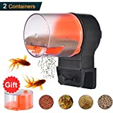 Mylivell Automatic Fish Feeder,Fish Feeder,Aquarium Tank Vacation Battery Operated Fish Food Timer Dispenser,Auto Fish Turtle Food Feeder for Weekend or Holiday