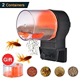 Mylivell Automatic Fish Feeder,Aquarium Tank Vacation Battery-Operated Fish Food Timer Dispenser, Automatic Fish/Turtle Feeder for Weekend or Holiday