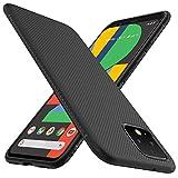 Gesma for Google Pixel 4 Case, Scratch Resistant & Anti Slip Enhance Gripping Soft TPU Case for Google Pixel 4 Phone (Black)