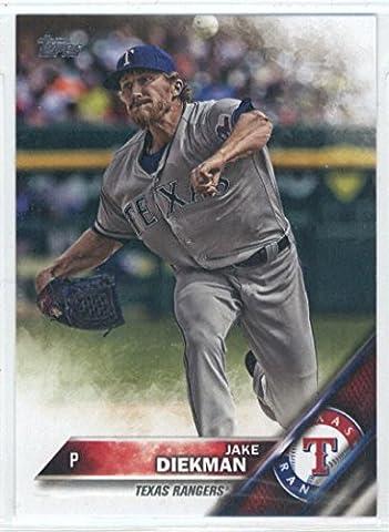 Baseball MLB 2016 Topps Update #US116 Jake Diekman NM-MT Rangers (Jake Diekman)
