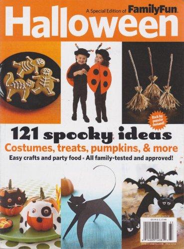Family Fun Magazine Halloween (Family Fun Halloween Magazine Fall)