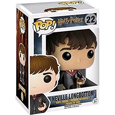 Funko POP Movies: Harry Potter Neville Longbottom Action Figure: Funko Pop! Movies:: Toys & Games