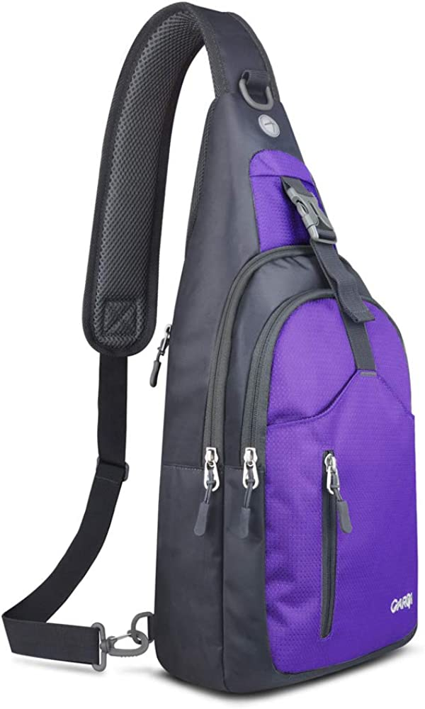 CARQI Sling Bag Shoulder Backpack Crossbody Purse for Hiking Camping