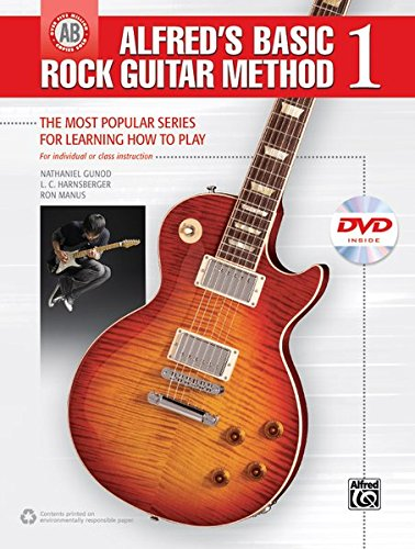 (Alfred's Basic Rock Guitar Method, Bk 1: The Most Popular Series for Learning How to Play, Book & DVD (Alfred's Basic Guitar Library))