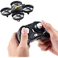 Fancywhoop Mini Quadcopter 2.4G 4CH 6-Axis Gyro Pocket Drone Headless Mode Remote Control RC Quadcopter with One-key Return Altitude Hold