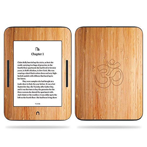 MightySkins Skin Compatible With Barnes & Noble NOOK GlowLight 3 (2017) - Bamboo Ohm | Protective, Durable, and Unique Vinyl Decal wrap cover | Easy To Apply, Remove | Made in the USA