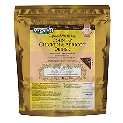 Addiction Grain Free Dehydrated Dog Food Chicken & Apricot