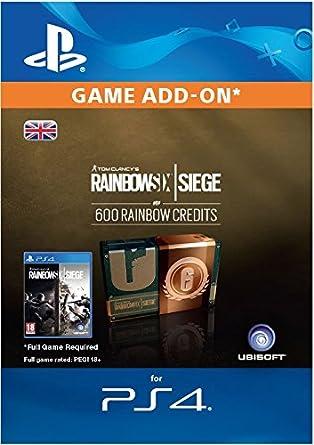 Tom Clancy's Rainbow Six Siege Currency pack 600 Rainbow