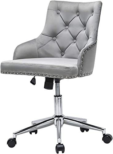Velvet Office Chair