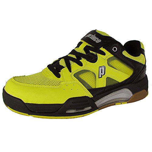 Prince NFS Attack Men's Squash Shoe-Yellow/Black/White-11.5