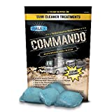 Walex CMDOBK Commando Black Tank Cleaner, 40 Pack Drop-Ins