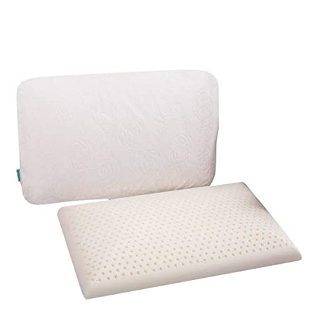 Slim Sleeper Natural Latex Foam Pillow