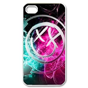 Custom High Quality WUCHAOGUI Phone case Blink 182 Pattern Protective Case For Iphone 4 4S case cover - Case-20