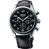 SEIKO Presage SRQ021J1 Silver Leather Man Limited Edition