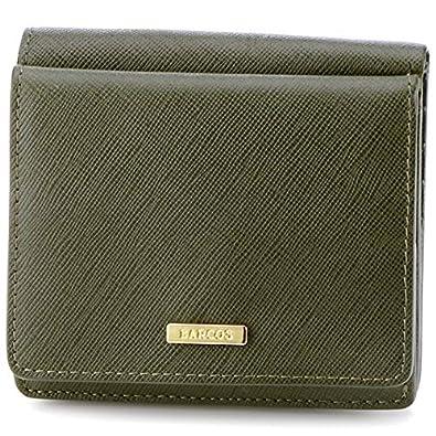 93b42e183ea5 Amazon | バルコス(BARCOS) 【BARCOS/バルコス】グッドラックウォレット折り財布 Sally【グリーン/**】 |  レディースバッグ・財布