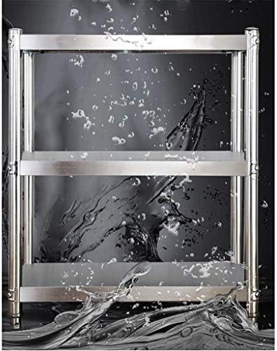 Plank - Keukenvloer Stand RVS Opslag Rack Magnetron Oven Stand Drie Verdiepingen 35CM
