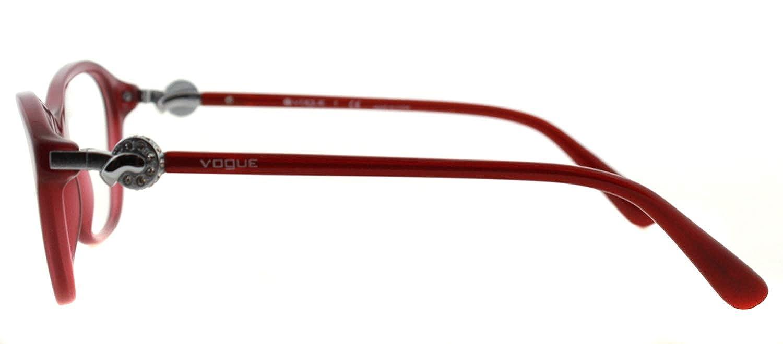 Vogue Eyeglasses VO2910B 2128 Transparent Cherry 51 18 135